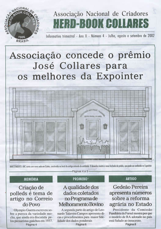 Capa do Informativo ANC