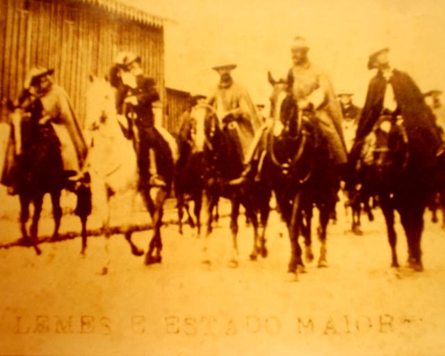 Honório Lemes e Pedro Olimpio Pires