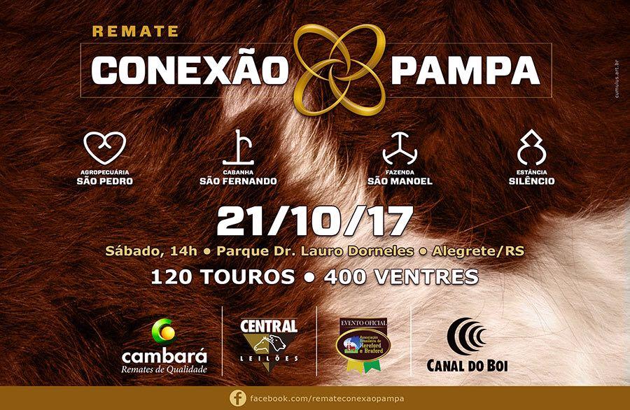 Canal do Boi transmite o Remate Conexão Pampa no sábado (21/10)