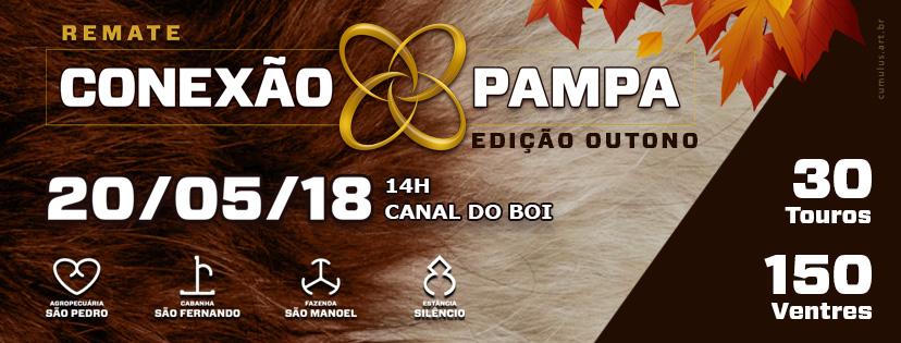 DOMINGO – 20/05 – Estréia o Remate Conexão Pampa de Outono