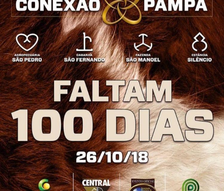NOSSA… JÁ ESTAMOS A 100 DIAS do Remate Conexão Pampa